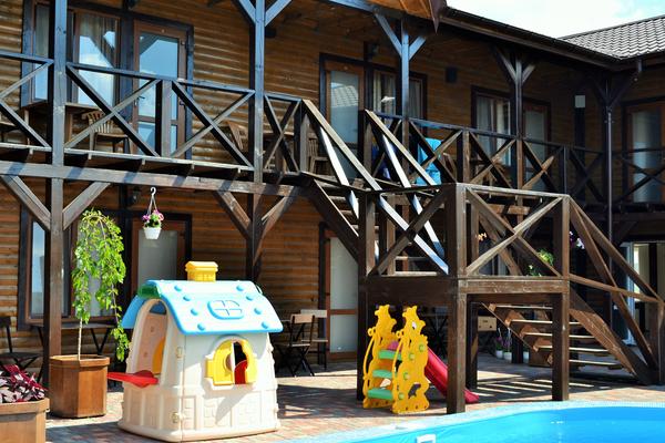 отель для отдыха с детьми в Крыму